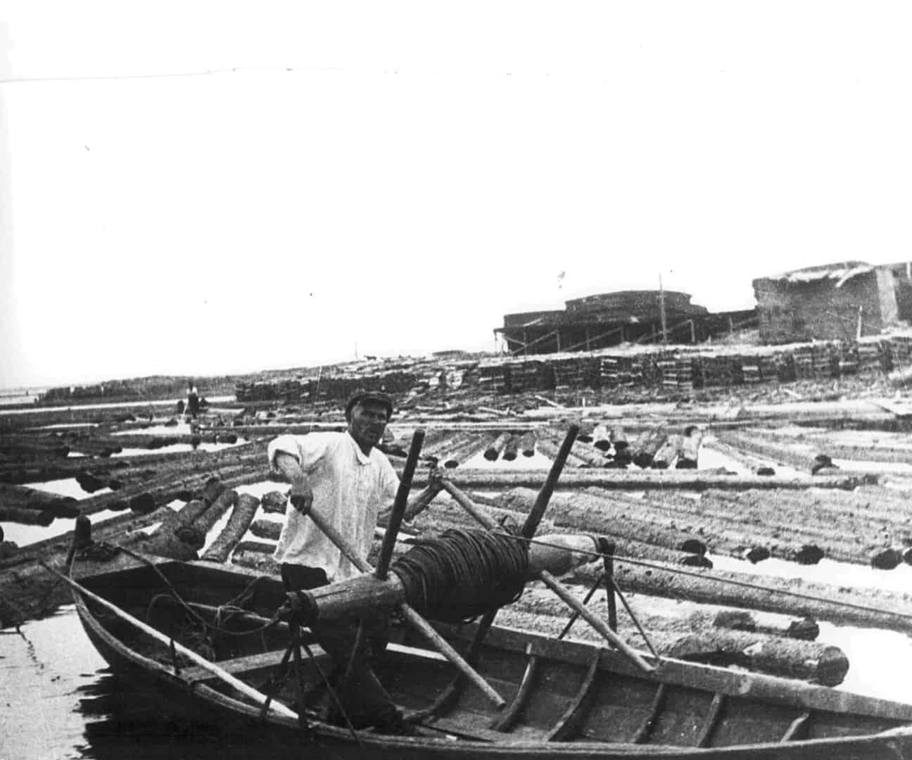 16 мая 1873 года началось строительство еще одного лесозавода торгового дома Громов и К.